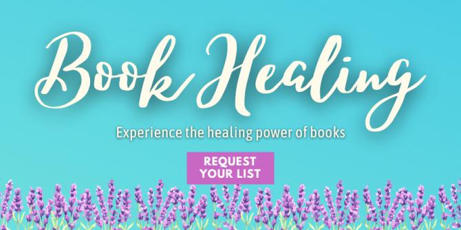 Book Healing button