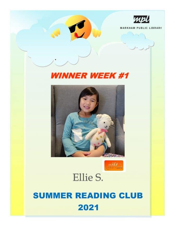 Prizewinner week 1